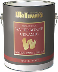 wallauer ceiling white matte
