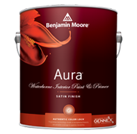 interior paint aura satin
